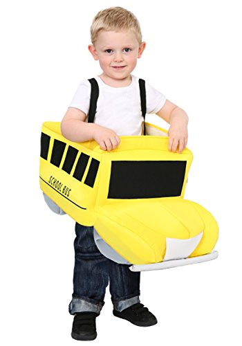 Ride in School Bus Toddler Costume Toddler -