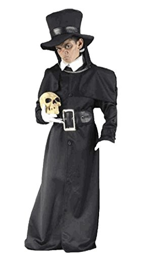 Boys Grave Digger Kids Child Fancy Dress Party Halloween Costume, M (8-10) -