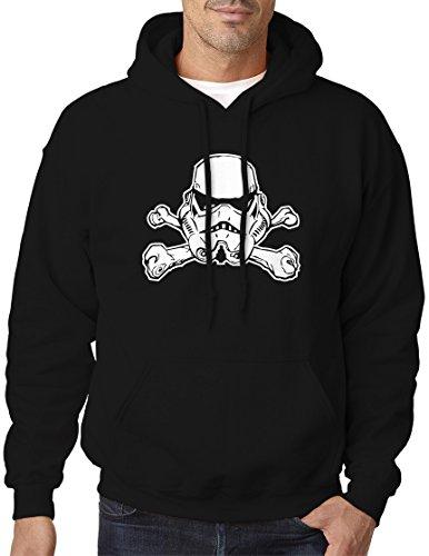 BBT Adult Star Wars Stormtrooper Jolly Roger Sweatshirt Hoodie 4XL - Sweatshirt Jolly Roger