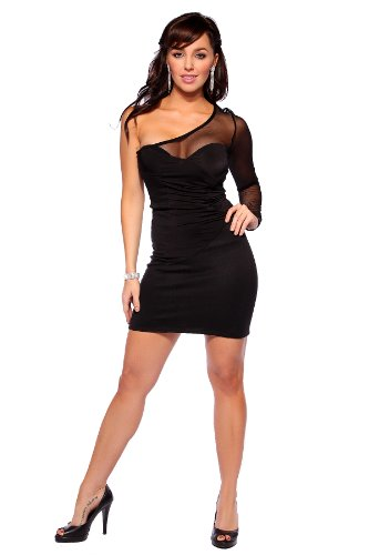 YouLookHot - Vestido - para mujer negro negro 38