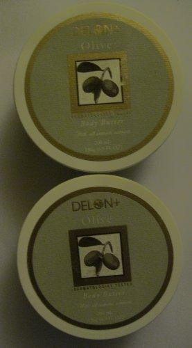 Delon Olive Body Butter 6.9 Oz 2 Pack