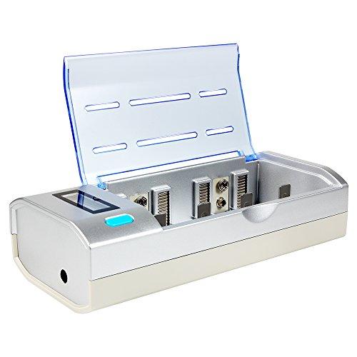 Hokyzam - Cargador de batería Recargable, estación de Carga Universal WL05 para AA AAA SC C D Ni-MH/NI-CD y baterías...