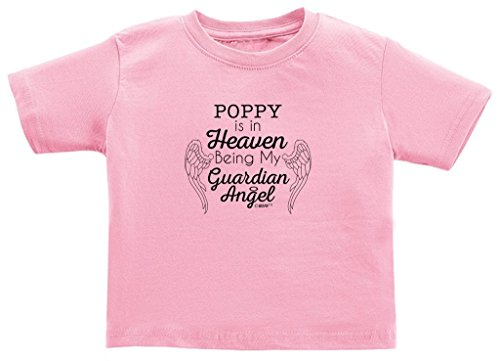 Poppy in Heaven Being My Guardian Angel Juvy T-Shirt 5/6 Pink