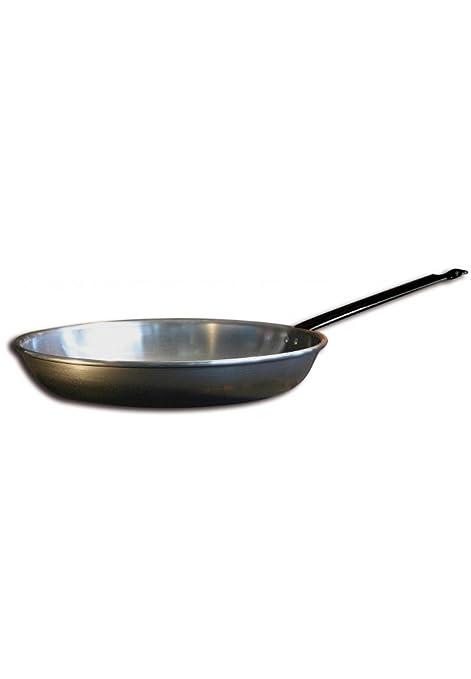Sartén para freír, de hierro, 32 cm: Amazon.es: Hogar