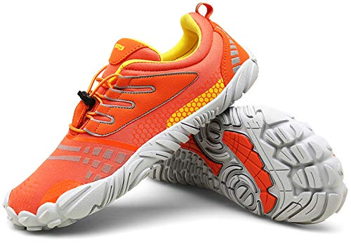 Zcoli Mens Womens Barefoot Running Shoes for Outdoor Trail Fitness Athletic Training