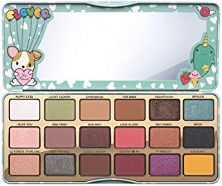 (Too Faced Clover A Girl's Best Friend Eye Shadow Palette)