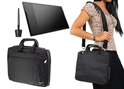 Navitech Black Graphics Tablet Case / Bag For The Huion Insp