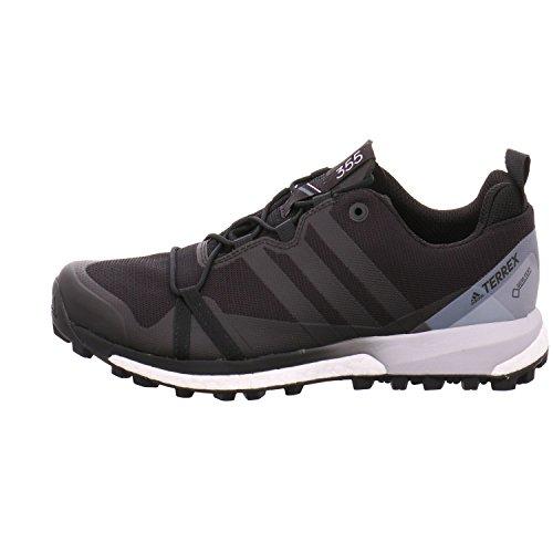 Negro de Zapatillas Terrex Senderismo Adidas GTX Agravic para Hombre Zw48cqHcW