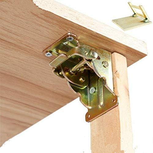 Hierro plegable Bisagra pata de la mesa plegable para soportes ...