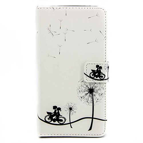 aeeque se, iPhone 5/5S/5C/6/6S (Plus), Samsung Galaxy S3/S4/S5/S6/S6Edge/S6Edge Plus/J5/Note 5/S7/S7edge/G360/G530/i9060, Sony Xperia M4/Z5/Z5mini, Huawei P8Lite elegante dibujo pintura patrón f Dandelion Lover