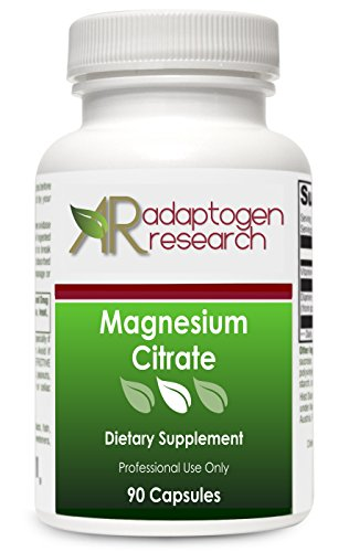 Magnesium Citrate | Readily Soluble Form of Magnesium | 150MG | Supports Energy Production Heart and Lung Function & Metabolism of Sugar and Carbs | 90 vegetarian capsules