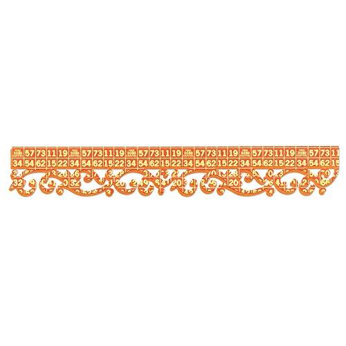 Medium Sizzlits Die - Sizzix 657388 Sizzlits Decorative Strip Die, Royal Swirls by Dena Designs, Multicolor