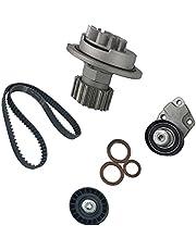 BESPORTBLE Professional Replacement Water Pump Tensioner Kit Timing Belt Kit Car Water Pump Valves Kit