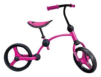 Fisher-Price Fp1050233-Bicicleta sin pedales para niños 2 En 1, color rosa: Amazon.es: Juguetes y juegos