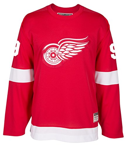 adidas Gordie Howe Detroit Red Wings CCM Heroes of Hockey Authentic Red Jersey