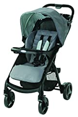 The Graco Verb Click Connect Stroller gives you a stylish and smooth ride for your child. It features Click Connect technology to accept all top-rated SnugRide Click Connect infant car seats with a secure, one-second attachment and an audible...