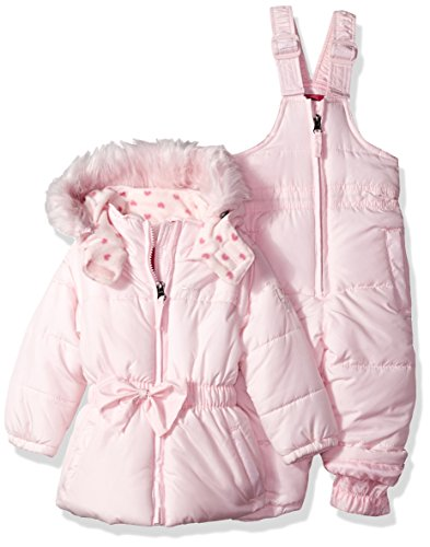 Weatherproof Baby Girls' Snow Suit (More Styles Available), W3204-Ballerina, 18M