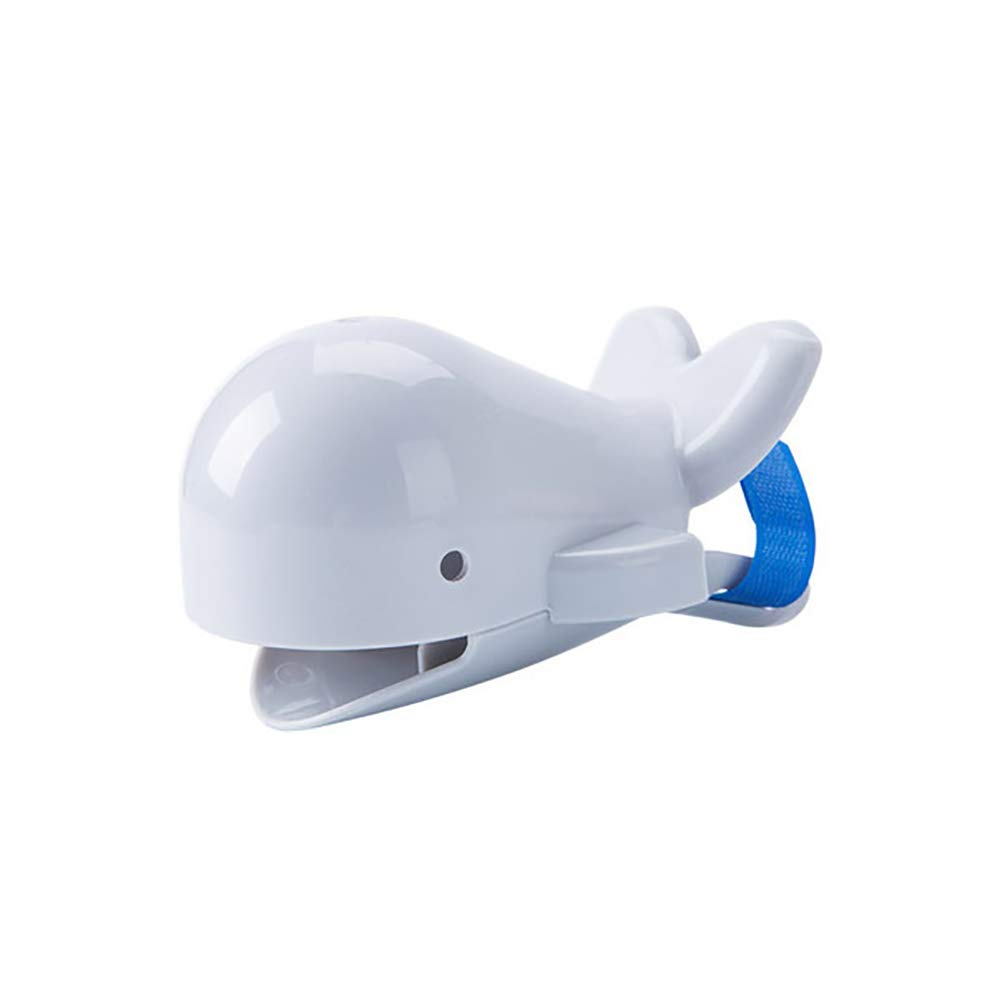 heaven2017 Cute Whale Water Faucet Chute Extender Spout Tap Children Hand Washing Easyer Grey