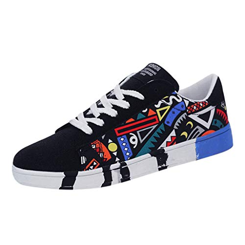 〓LYN Star〓 Women Girls Fashion Graffiti Personality Sneakers Sports Espadrilles All Star Shoreline Low Top Sneaker - Soft Claw Studs