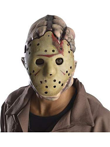 Rubie's Men's Friday The 13Th Jason Double Mask, Multi, One Size -