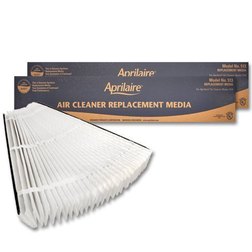 Aprilaire 513 Replacement Filter (Pack of 2) by Aprilaire