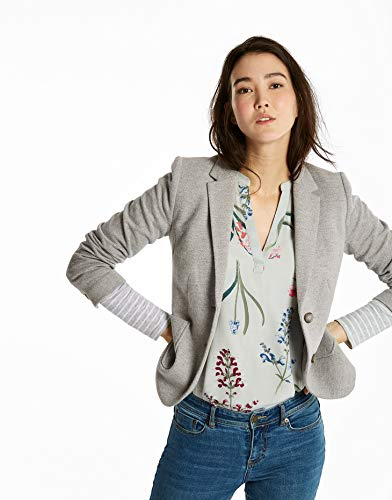 Light Ellice Multi Button Tweed Grey Blazer Joules Fleck Stylish Double Womens Jersey ladies wSHTzqEf