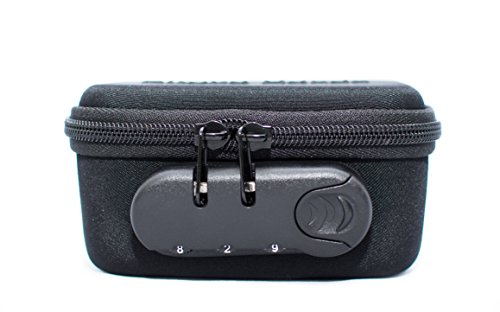 Ledger Nano S and Trezor Hardware Bag with Lock for Cryptocurrency Cold Storage - Best Hard Case for Crypto Wallet - Patented Design by Chillax (Image #6)