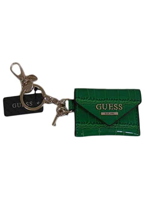 Monedero llavero rectangular Guess verde A38/23: Amazon.es ...