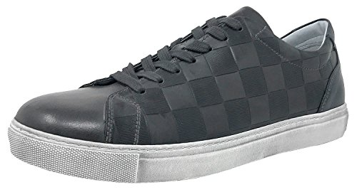 NeroGiardini A705370U, zapatillas deportivas negras, piel, Otoño-Invierno