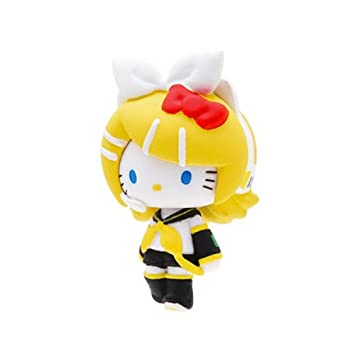 Amazon.com: Vocaloid Hatsune Miku x Hello Kitty Mascot Rin ...