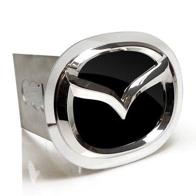 Au-Tomotive Gold, INC. Mazda 3D Black Infill Chrome Logo Tow