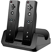 Charger Dock for Wii U Gamepad, Lavuky WD06 3 in 1 Remote...