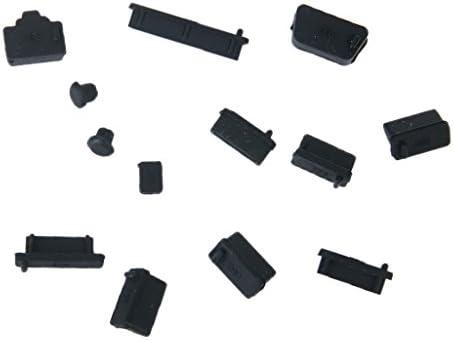 Cubierta Protector Tapón Set de Polvo de Silicona para Puerto Ordenador Portátil