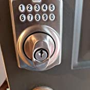 Schlage Be365 Ply 716 Plymouth Keypad Deadbolt Aged