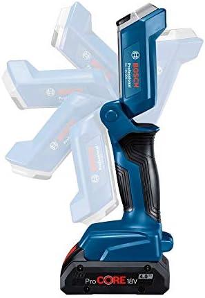 Bosch Professional 06014A1100 Lampe Sans-Fil GLI 18 V-300 18 V, Flux Lumineux : 300 Lumen, Bo/îte en Carton Bleu 1
