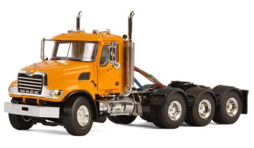 Mack Granite 8X4 4 Axle Tractor Day Cab Yellow 1/50 for sale  Delivered anywhere in USA