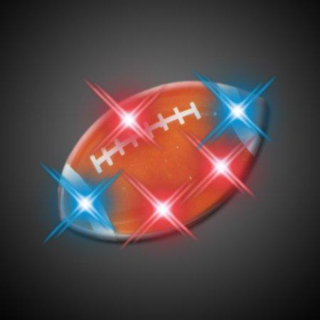 Football Flashing Blinking Light Up Body Lights Pins by FlashingBlinkyLights
