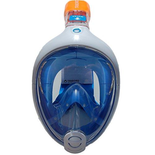 Subea Tribord Easybreath - Máscara de buceo de superficie, tamaño M/L – adultos: Amazon.es: Deportes y aire libre