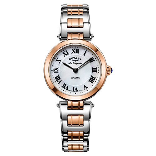 Rotary LB90187-41 Ladies Les Originales Lucerne Two Tone Steel Bracelet Watch