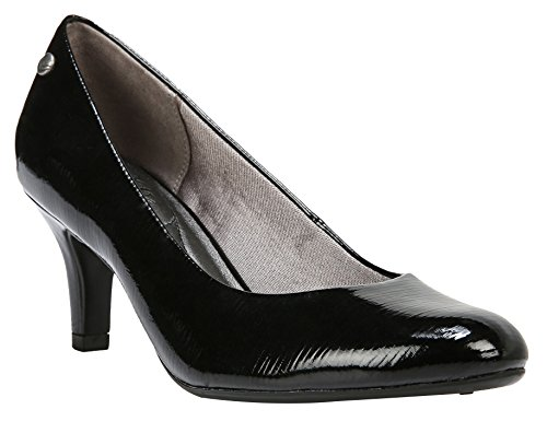 LifeStride Womens Parigi Pumps 7 Black by LifeStride