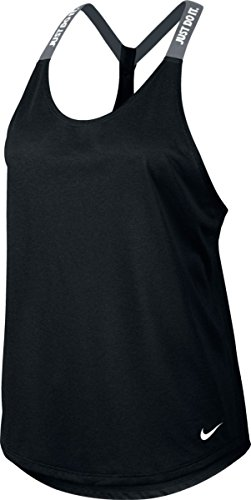 Nike New Women's Dry Training Tank Top Black/Cool Grey/White Small