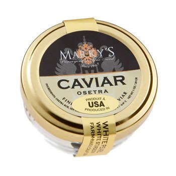 Caviar Osetra White Sturgeon (TRA) 'Malossol' - Farm raised - 0.50 oz. ()