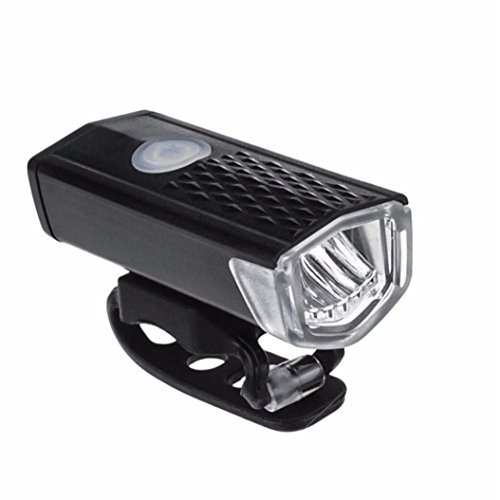 Bracket Torch Set (Sympath USB Rechargeable LED Bike Bicycle Cycling Front Light Headlihgt Lamp Torch)