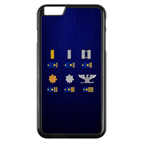 Apple iPhone 7/7S Case -US Coast Guard, Officer Rank Insignia (Ensign to Captain)