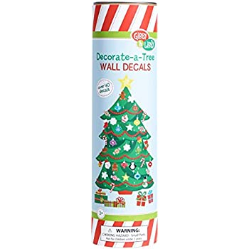 Gibby and Libby Christmas Tree Wall Decal Set by C.R. Gibson