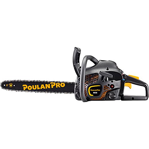 Poulan Pro 18″ Bar 42CC 2 Cycle Gas Powered Chainsaw (Certified Refurbished)