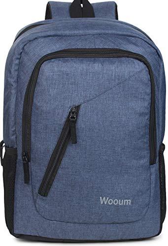 Wooum 15.6 inch Laptop Bag Backpack Fashion Backpack Casual Student School Bag Computer Bag College Bag Office Bag Business Bag Unisex Travel Backpack