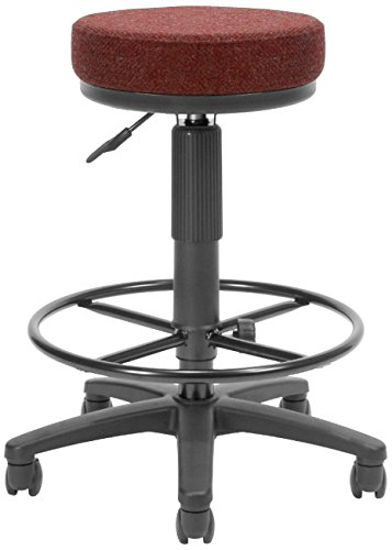 OFM Utility Stool with Drafting Kit, Wine ()