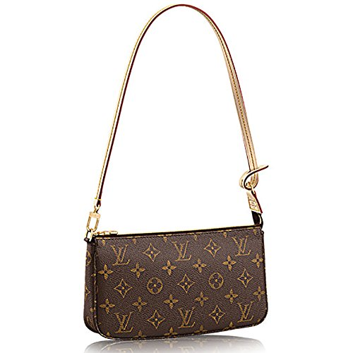 Louis Vuitton Pocket (Louis Vuitton Monogram Canvas Shoulder Bag Clutch Handbag Pochette Accessoreis NM Article: M40712)