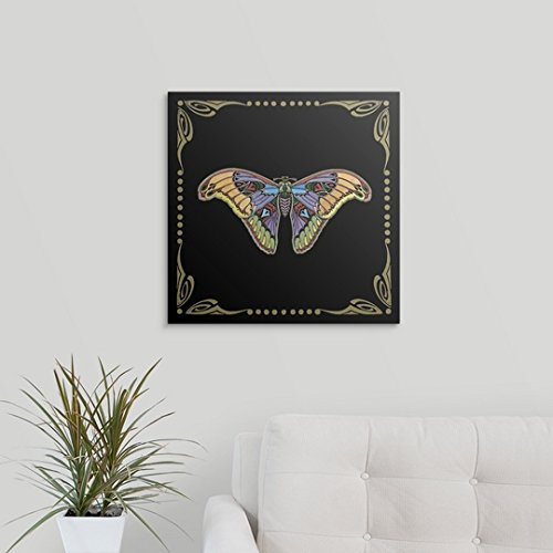 Amazon.com: GREATBIGCANVAS Gallery-Wrapped Canvas Entitled Cloisonne Butterfly by Vision Studio 12